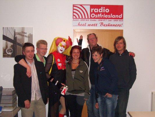 Team und Gäste vom 26.05.2010: Stefan, Daniel, Sr. Lea, Chrissi, Holger, Anni, Sebastian