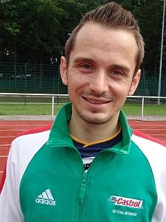 Interview mit Pascal, Leichtathlet, vor den Wettkämpfen