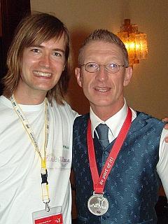 Interview mit Peter, Tänzer, vor dem letzten Wettkampf (auf dem Foto: Sebastian und Peter)